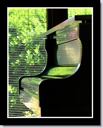 The Green Piano photo by Ron Petersen